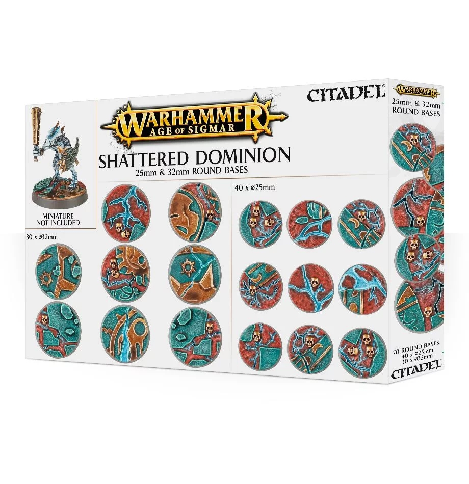 AOS: Shattered Dominion: 25  32mm round
