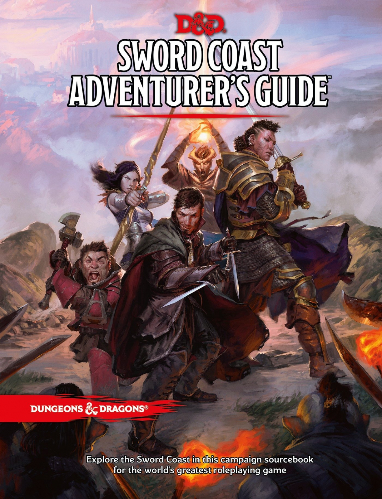 Dungeons  Dragons RPG - Sword Coast Adventurer s Guide - EN