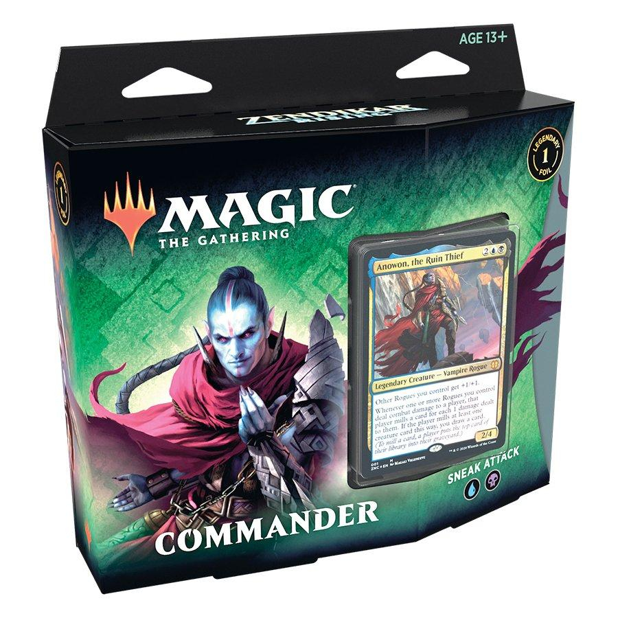 MTG Zendikar Rising Commander - Sneak Attack