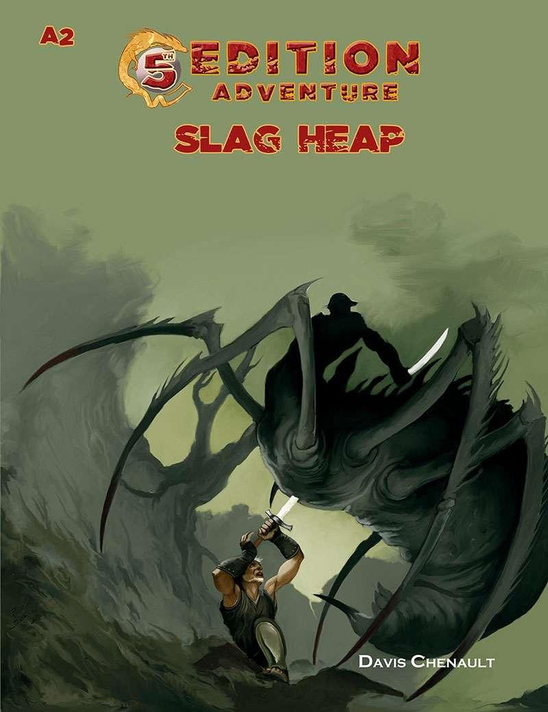 5th Edition Adventures - A2 The Slag Heap5th Edition Adventures - A3 Wicked Cauldron