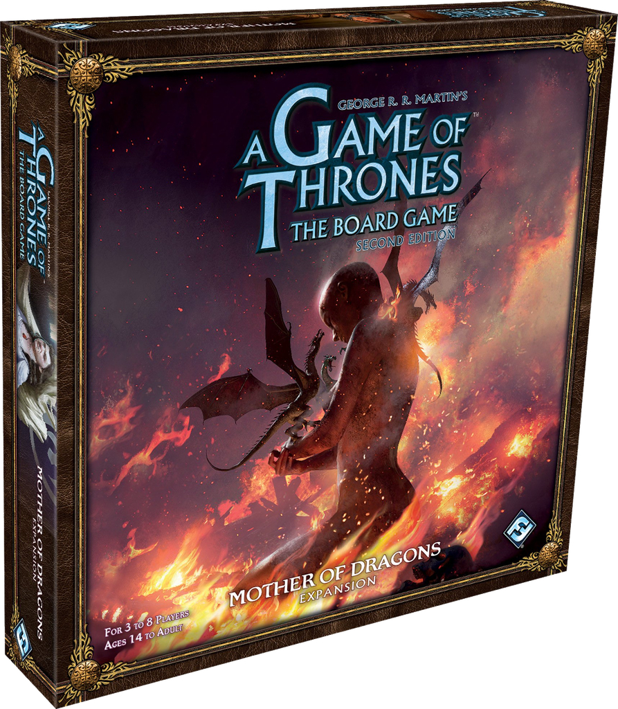 Pret mic A Game Of Thrones The Board Game: Mother of Dragons (Extensie)