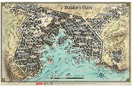 Baldur s Gate: Descent into Avernus Map