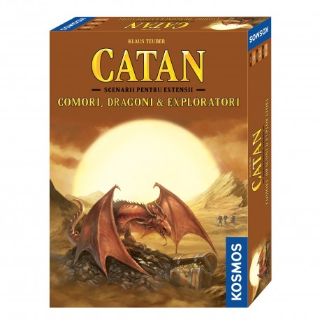 Catan - Comori, Dragoni si Exploratori