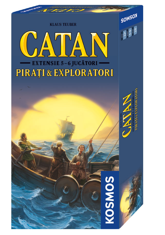 Catan - Pirati si Exploratori ext. 5-6