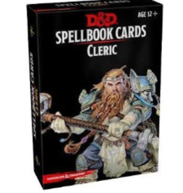 DD Spellbook Cards - Cleric