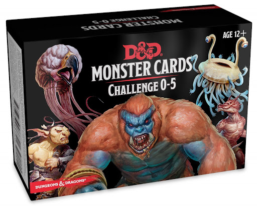 Monster cards Challenge 0-5