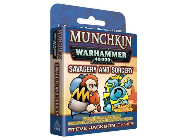 Pret mic Munchkin Warhammer 40,000 ,       Savagery and Sorcery (Extensie)