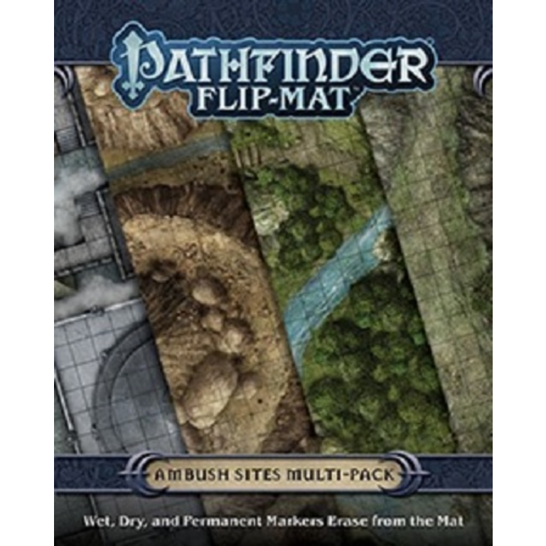 Pathfinder Flip-Mat Classics: Ambush Sites Multipack