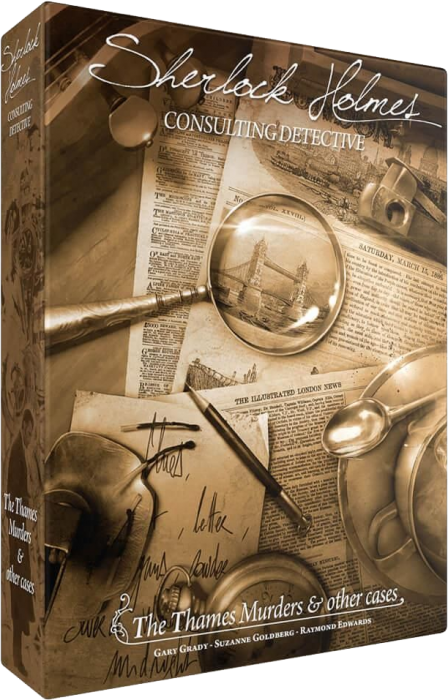 Sherlock Holmes Consulting Detective: The Thames Murders  Other Cases