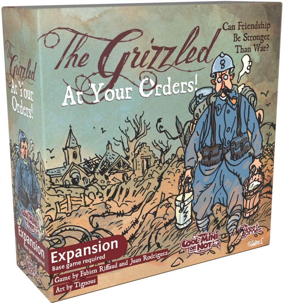The Grizzled: At Your Orders! (Extensie)