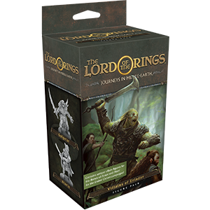 The Lord of the Rings: Journeys in Middle-Earth Board Game - Villains of Eriador Figure Pack (Extens
