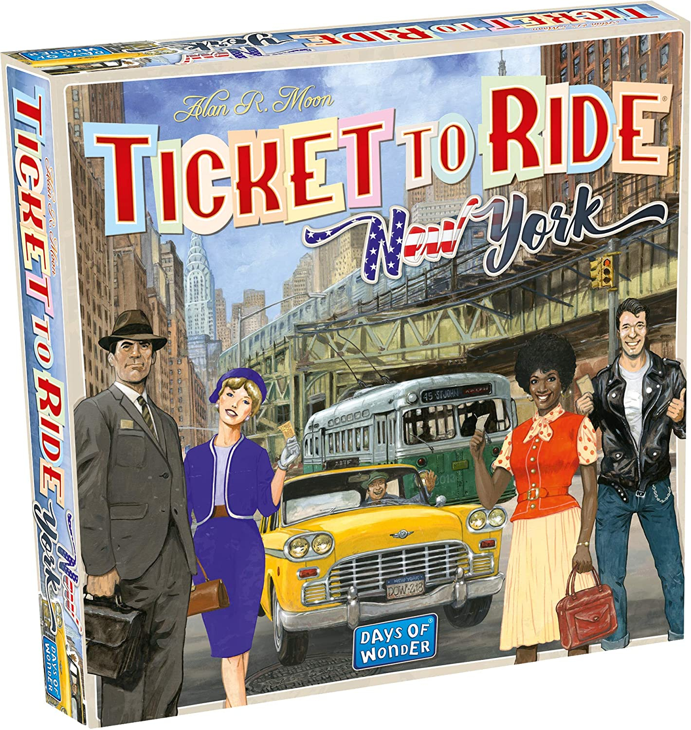 Ticket to Ride Express: New York City 1960 (Extensie)