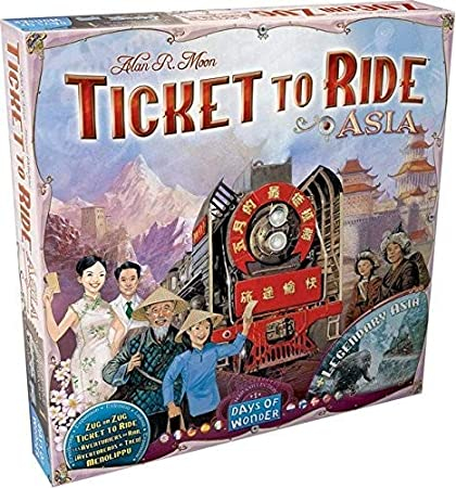 Ticket to Ride - Map Collection 1: Asia (Extensie)