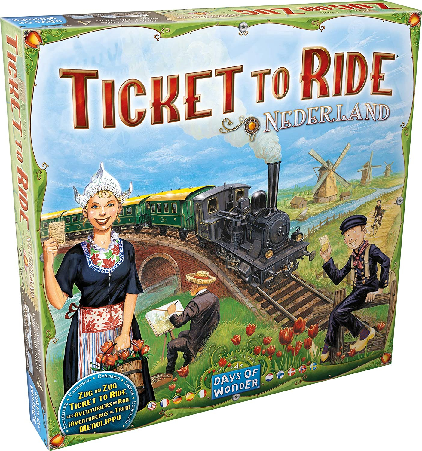 Ticket to Ride - Map Collection 4: Nederland (Extensie)