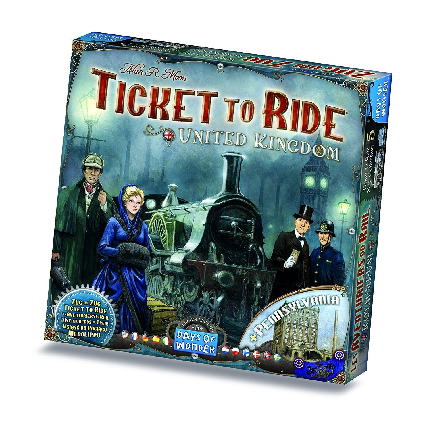 Ticket To Ride United Kingdom (Extensie)
