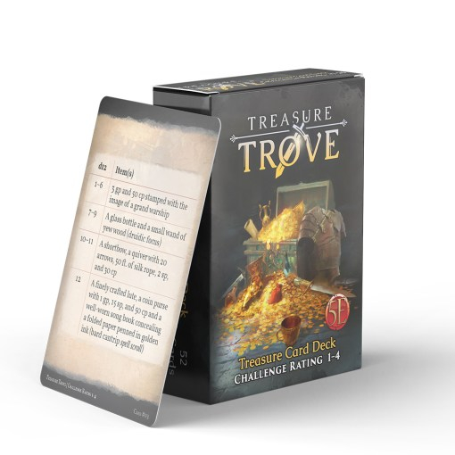 Treasure Trove CR 1-4