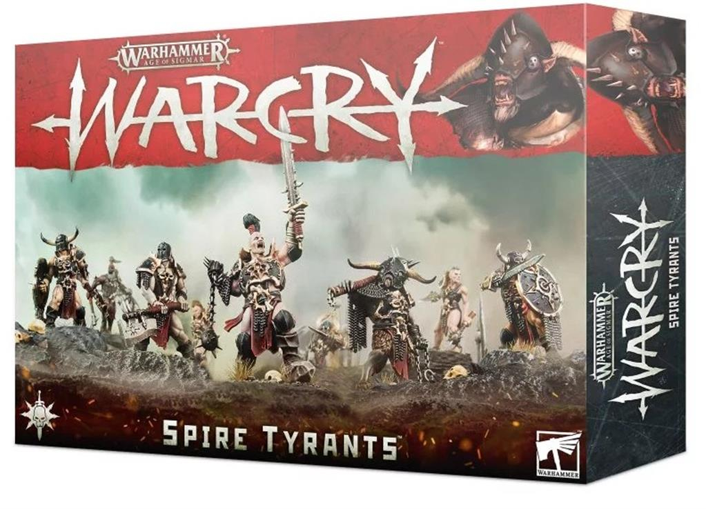 Pret mic Warcry: Spire Tyrants